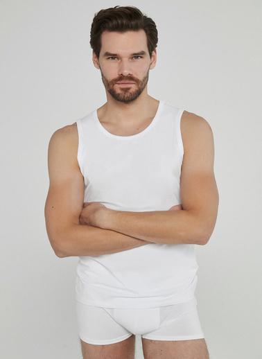 Penti Erkek Optik Beyaz Basic 2'li Atlet PL6DRELD20SK Beyaz